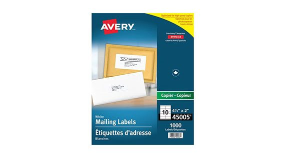 Address and Shipping Labels