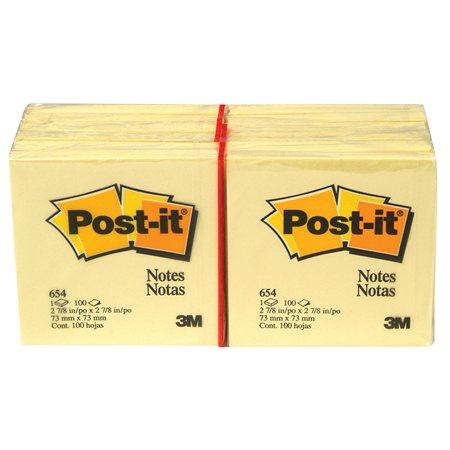 POST IT YELLOW PAD 3X3