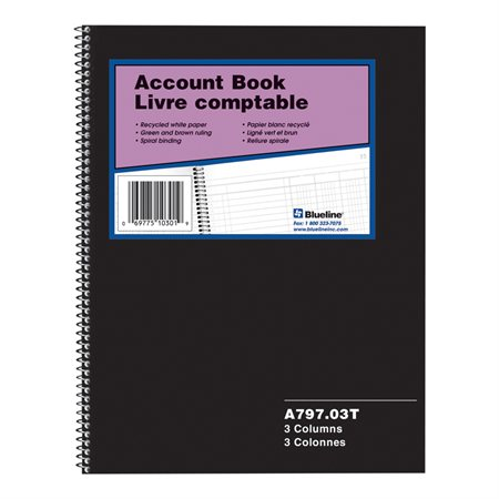 A797 Account Book