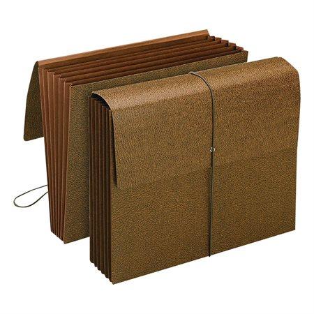 6-pocket partition wallet letter