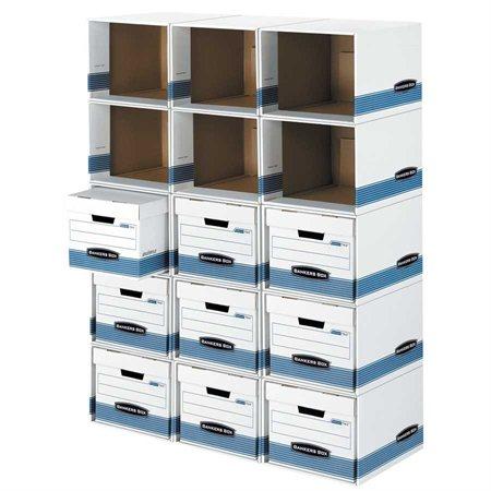 Coque pour boîte d'entreposage File / Cube