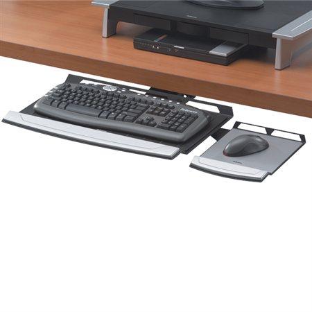 Tiroir réglable pour clavier