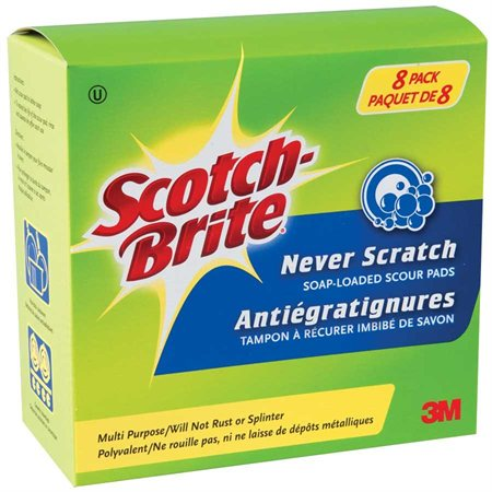 Never Scratch Scotch-Brite® Soap Scour Pad