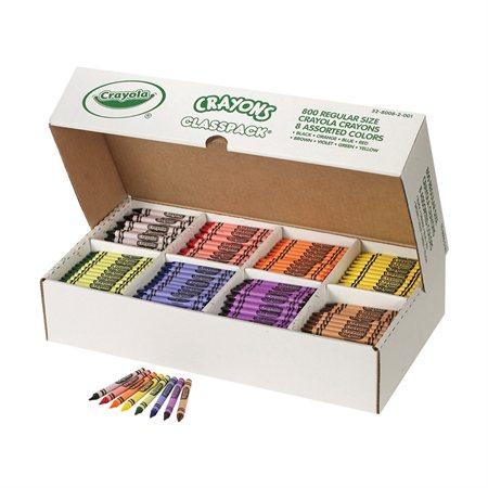 Crayons de cire