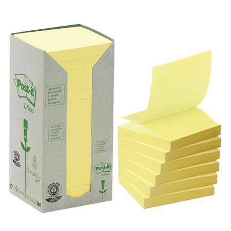 Recycled Post-it® Pop-Up Notes