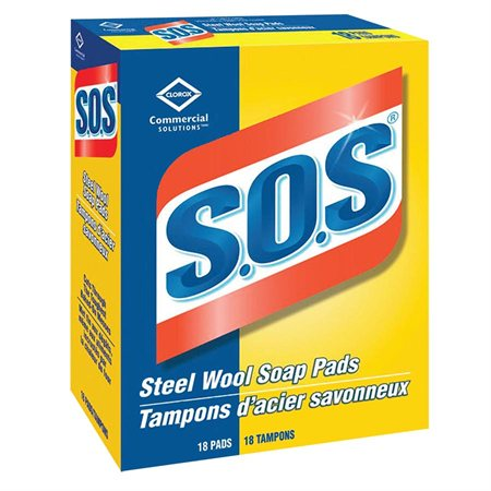 S.O.S.® Steel Wool Soap Pads