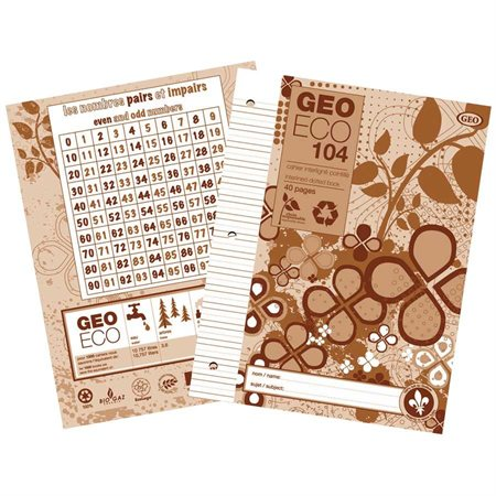 """Cahier d'exercices """"GeoEco"""""""