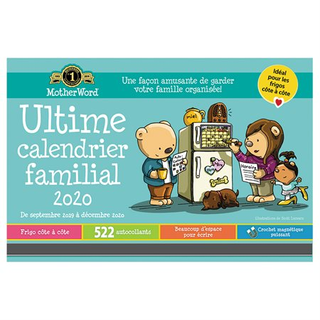 MotherWord® Family Fridge Calendar (2020