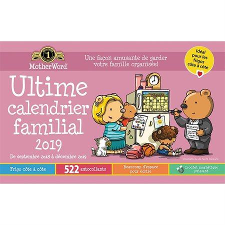 MotherWord® Family Fridge Calendar (2019)
