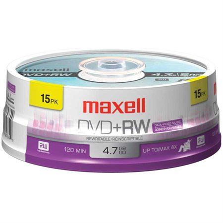 Rewritable DVD+RW Disk