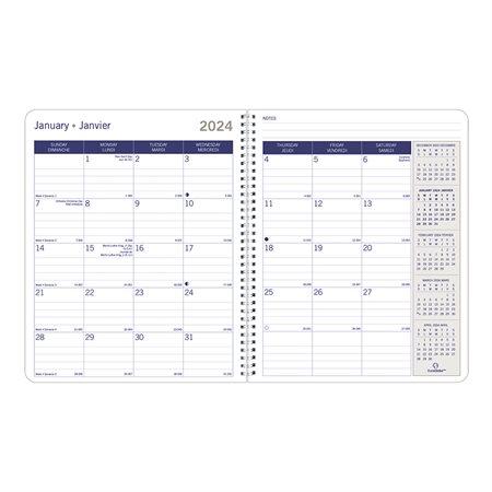 Agenda mensuel DuraGlobe™ (2020)