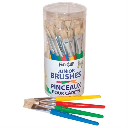 Funstuff Flat Hog Bristle Brush