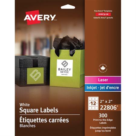 Printable Square Labels