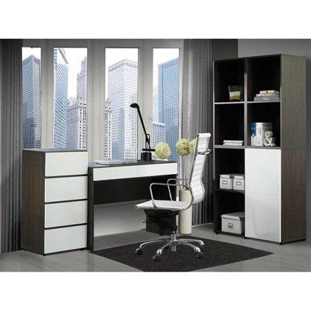 Storage Cabinet with Reversible Door