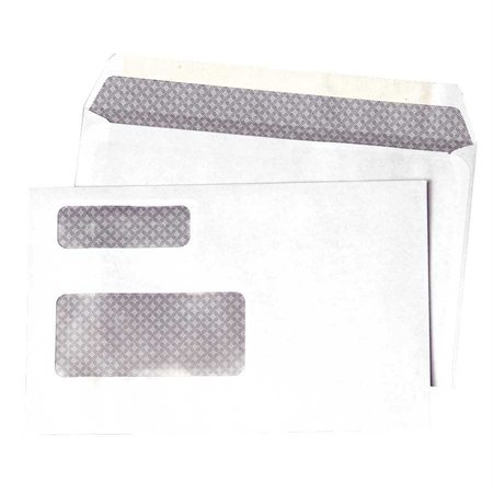 White Window T-4 Slip Envelopes