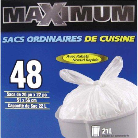 Maximum Kitchen Garbage Bag