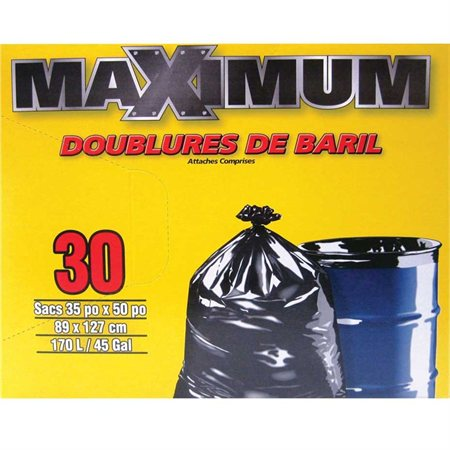 Maximum Garbage Bags
