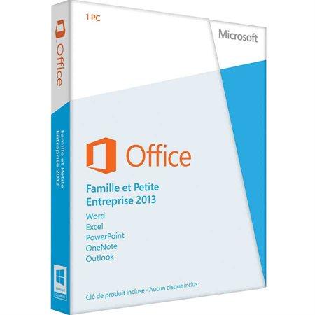 Office 2013 Famille et Petite Entreprise