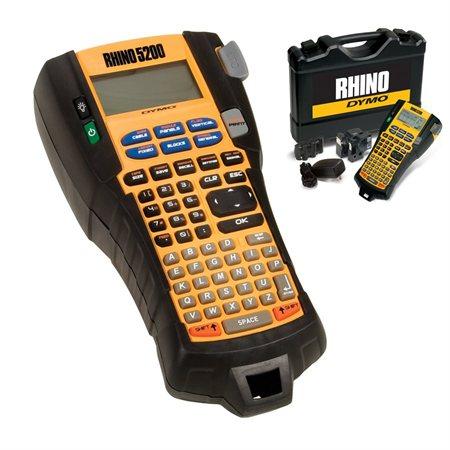Ensemble de mallette rigide pour étiqueteuse Rhino 5200