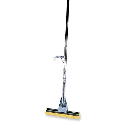 Steel sponge-mop
