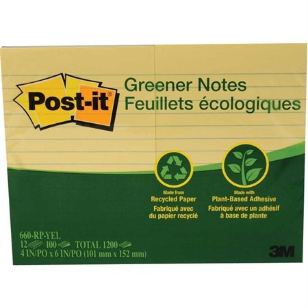 Feuillets autoadhésifs Post-it® recyclés