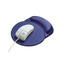 """RaceTrack"" mouse pad with wrist rest"