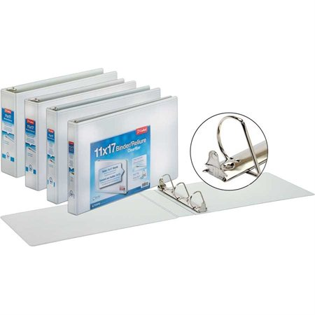 ClearVue Tabloid Size Presentation Binder