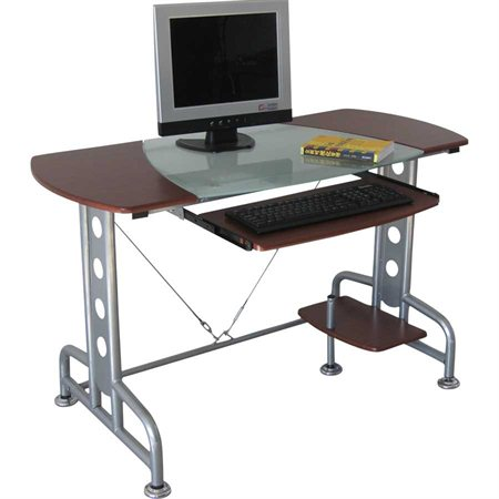 Castor Computer Desk