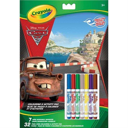 Bloc à colorier et d'activités