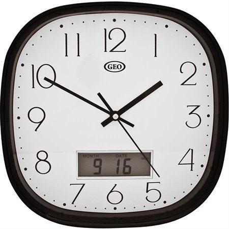 Horloge murale analogique / numérique