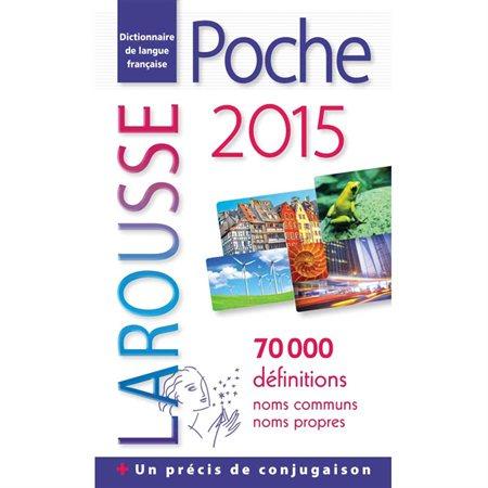 """Dictionnaire """"Larousse de poche 2015"""""""