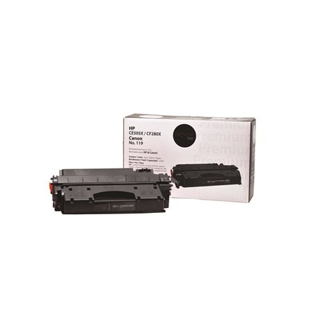 Cartouche de toner à haut rendement compatible (Alternative à HP 05X / 80X)