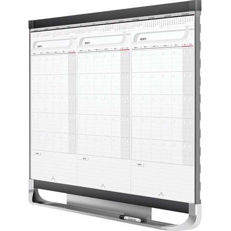 Tableau blanc effaçable à sec calendrier magnétique Prestige® 2