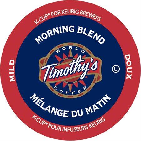 CAFÉ TIMOTHY'S MÉL.MATIN DOUX KCUP @24