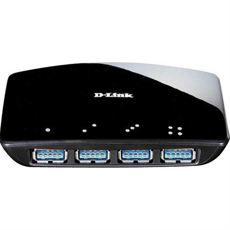 Concentrateur USB 3.0 à 4 ports