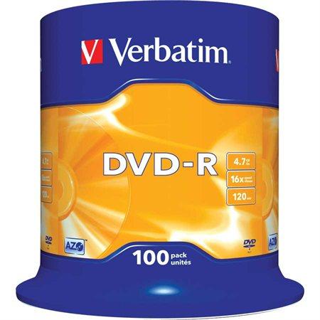 Disque DVD-R inscriptible 16x