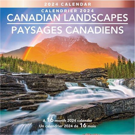 Canadian Landscape Wall Calendar (2020)