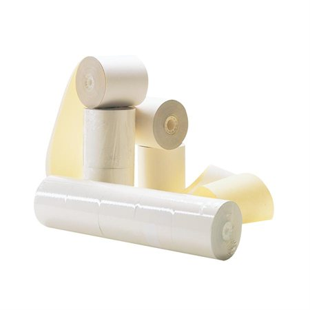 Carbonless roll