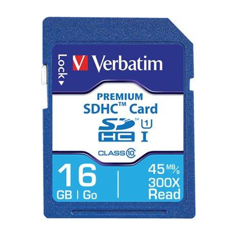 Carte mémoire SDHC haut de gamme UHS-I V10 U1 Classe 10