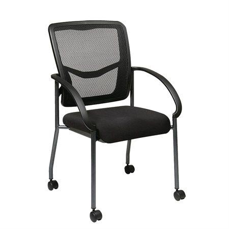 Chaise visiteur Pro-Line® II ProGrid® sur roulettes