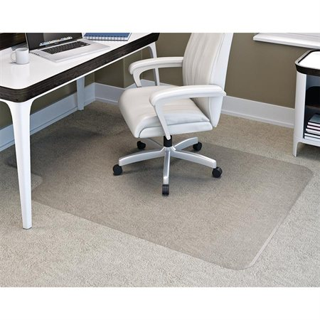 "Duramat® Anti-Static Chairmat With 25 x 12"" lip 45 x 53"""