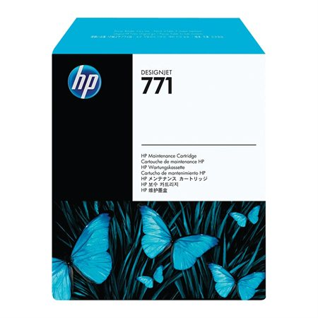 Cartouche de maintenance HP 771