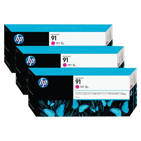 HP 91 Ink Jet Cartridge Tri-Pack