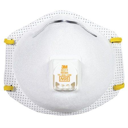 Respirateur N95 avec valve Cool-Flow™ 8511