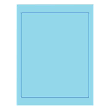 """Couverture de rapport Offix® 8-1 / 2"""" x 11"""" bleu (C87)"""