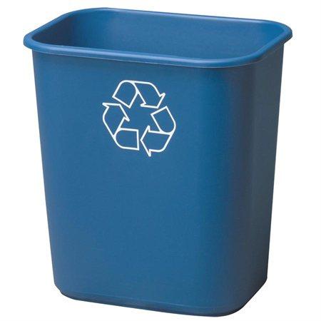Corbeille de recyclage