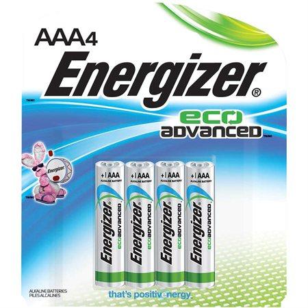 Piles alcalines EcoAdvanced™
