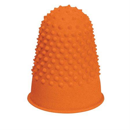"""Doigtiers en caoutchouc Offix® Très grand, 7 / 8"""" (3) orange"""