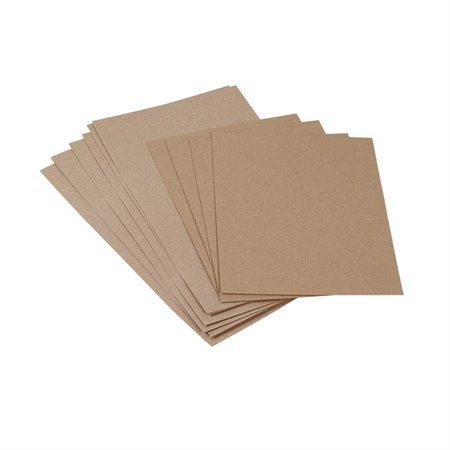 Carton à tablette recyclé