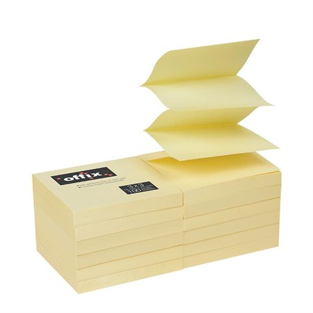Offix® Self-Adhesive Pop-Up Notes